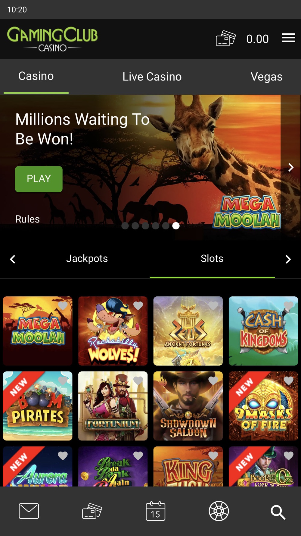 Gamingclub casino 44376
