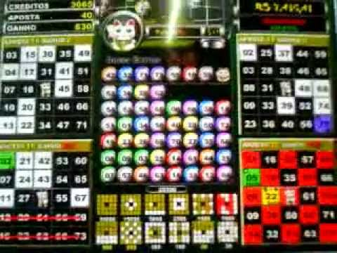 Pachinko vídeo bingo 22802