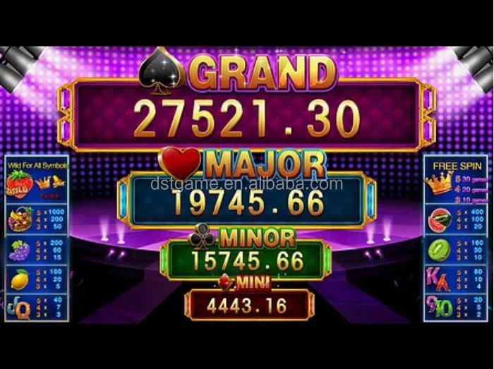 Desafio progressivo slot machine 66416