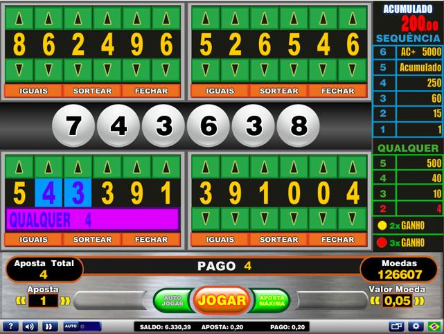 Video bingo champion 35475