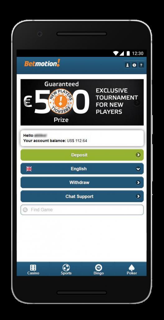 Betmotion mobile casinos principal 38011