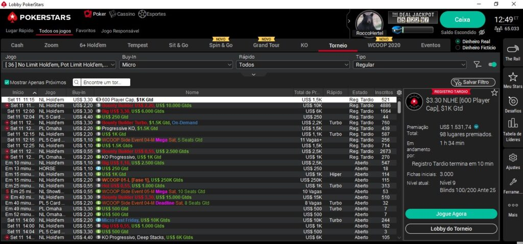 Melhor bônus poker 30782