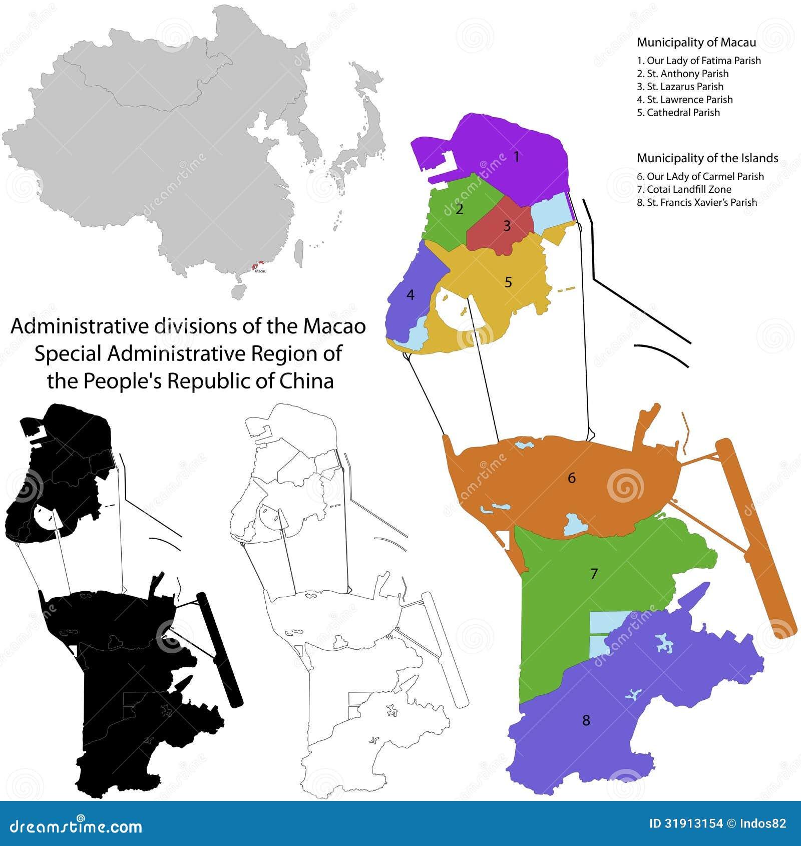 Macau mapa mundi paqueta 62979