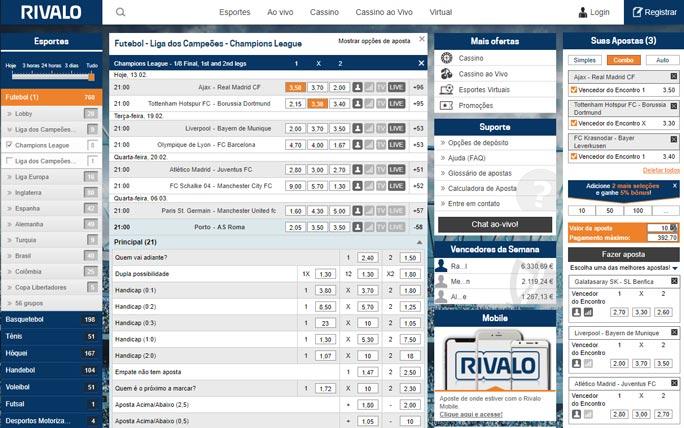 Rivalo bonus online 65063