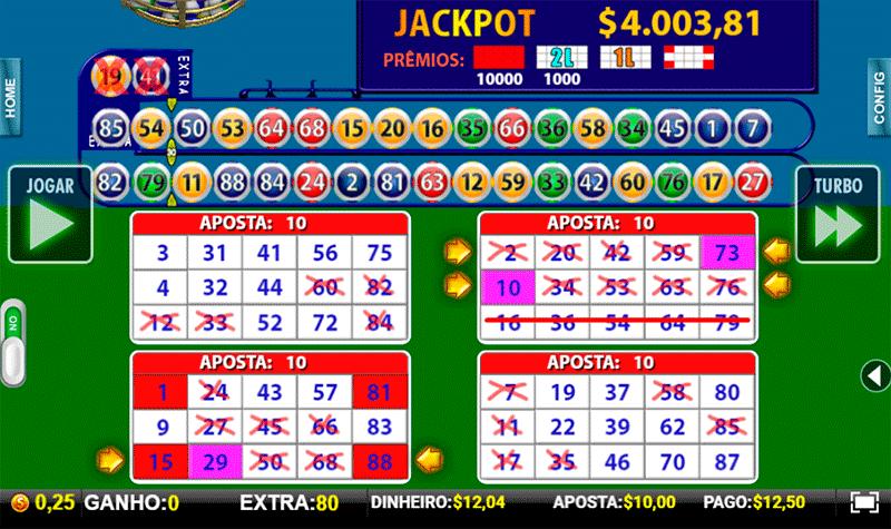 Casinos endorphina turbingo vídeo 46322