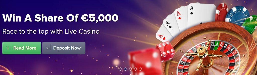 Live gambling euro 64867