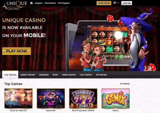 Unique casino slots 53484