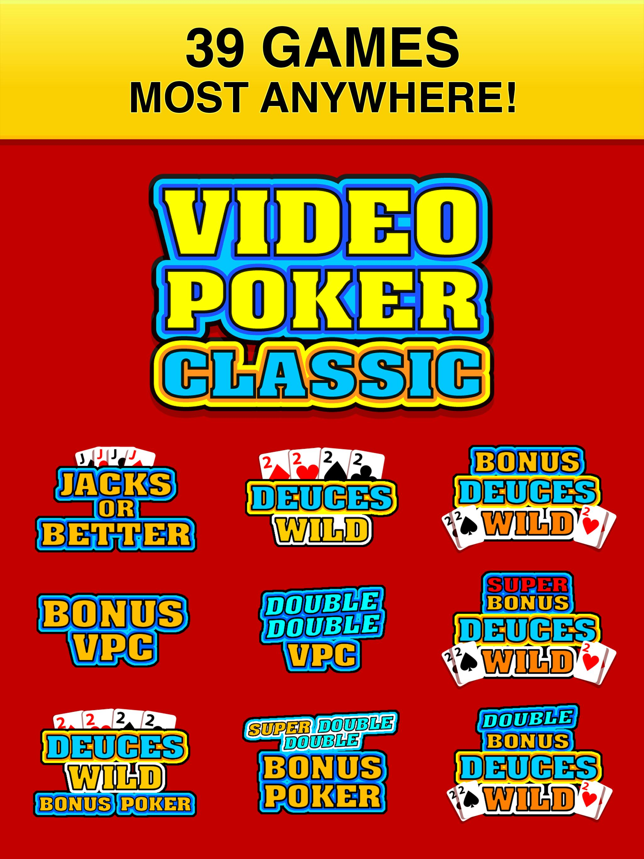 Classic video poker 66006