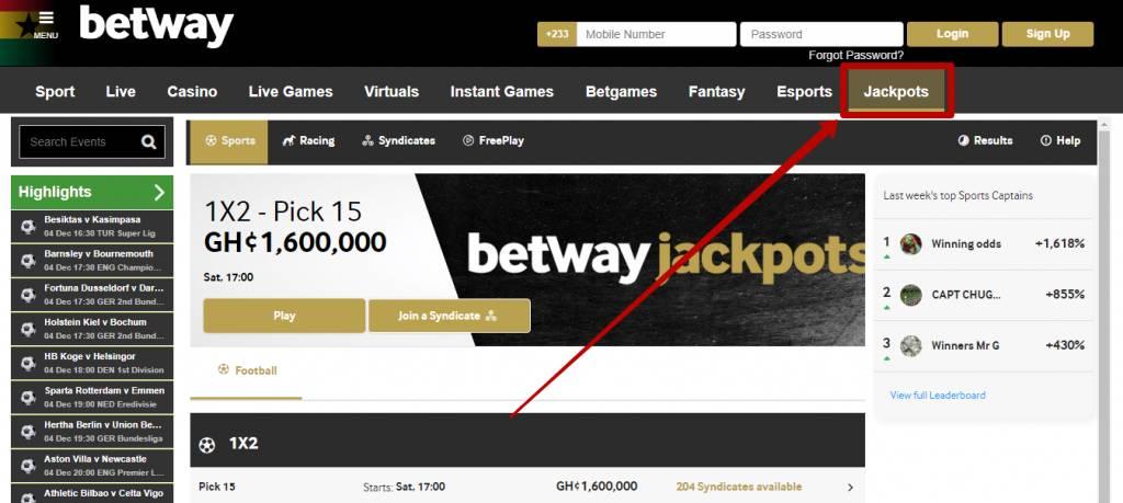 Ganhar bonus online betway 50683