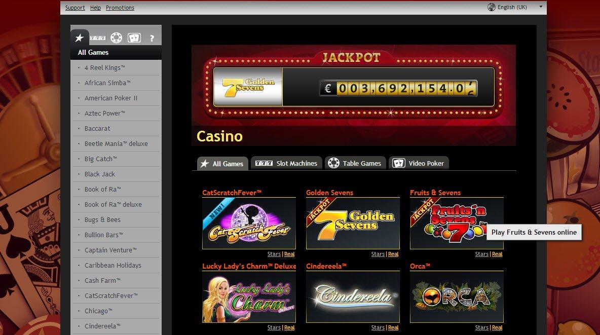Stargames net blueprint gambling 23957