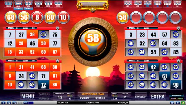 Video bingo playbonds 30504