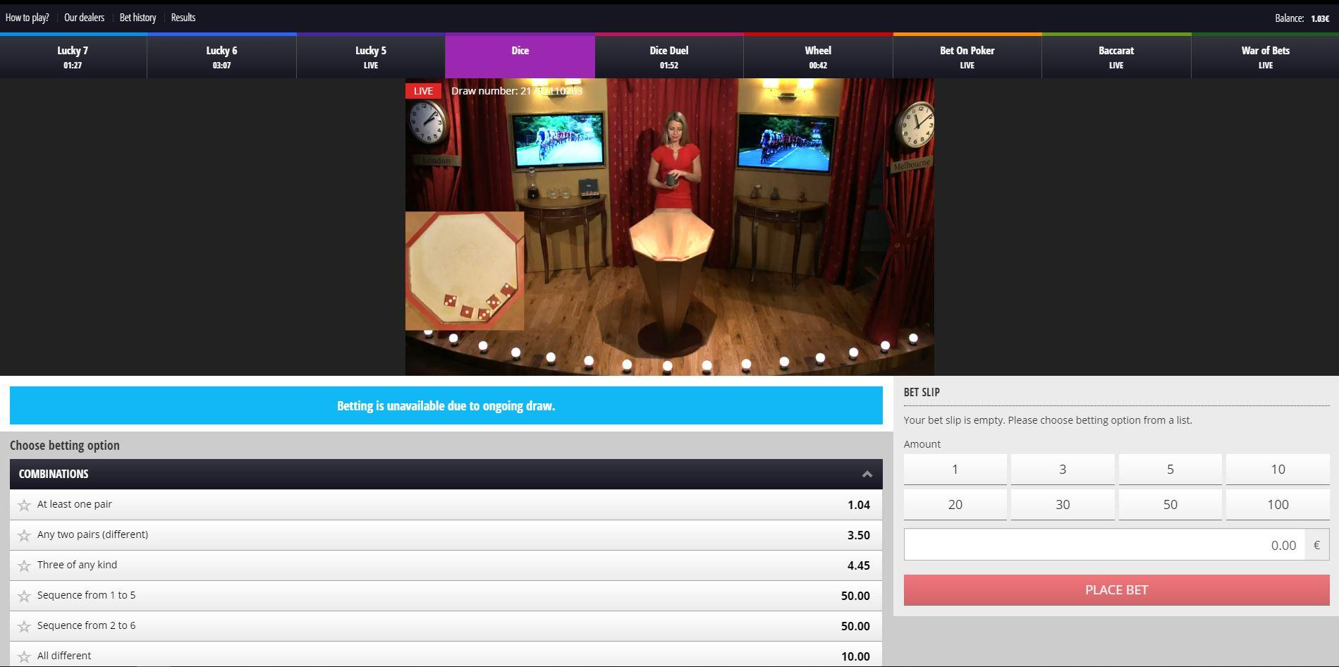 Casinos betgames tv throwback 14877