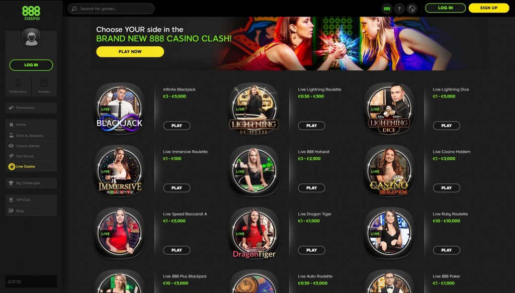 Jogos casino na internet 53674