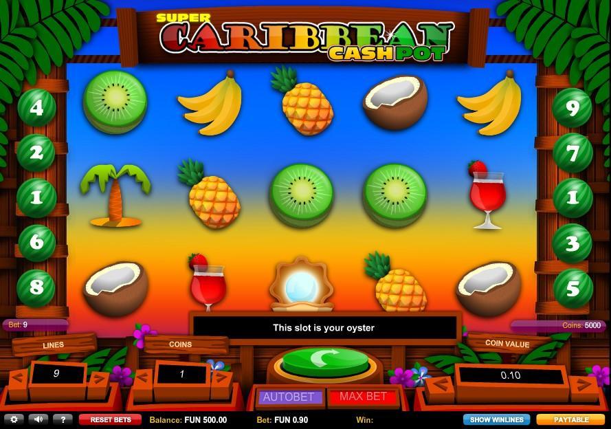 Cashpot casino star 58309