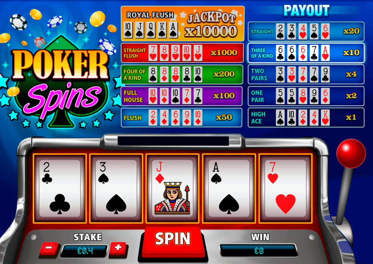 Free spins poker 41373