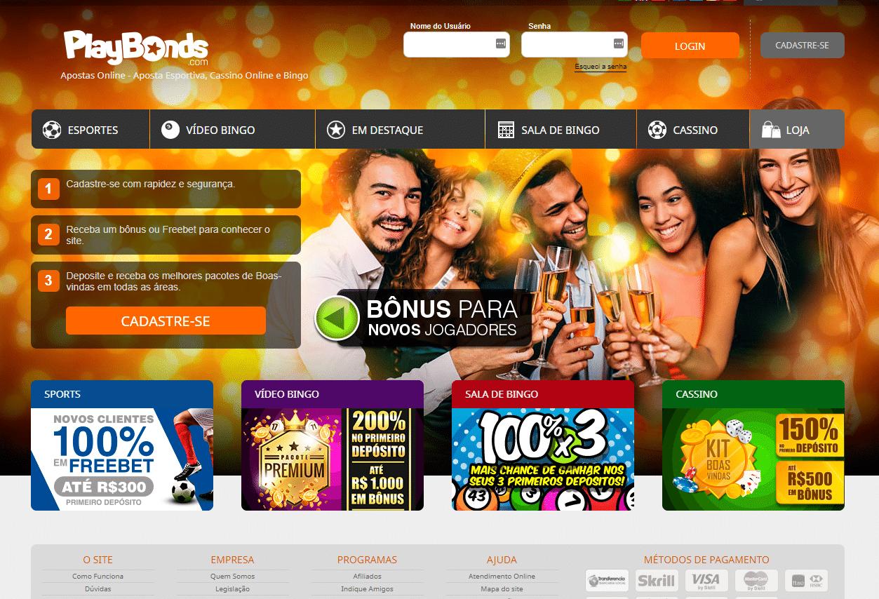 Legalização apostas playbonds 55492