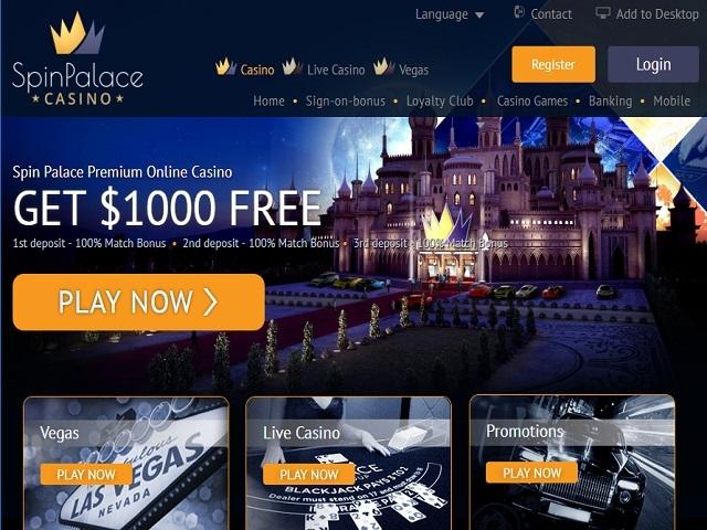 Spin palace net 66348